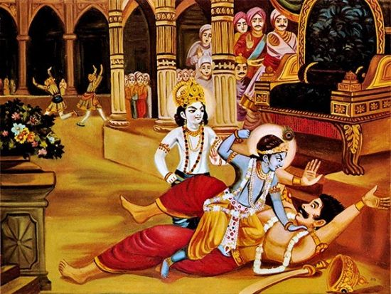 krishna killed Kansa