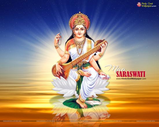 Maa Saraswati Wallpapers