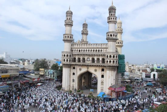 Charminar Historical Monuments of India