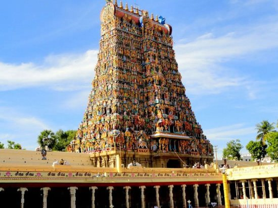 Meenakshi Temple Historical Monuments of India