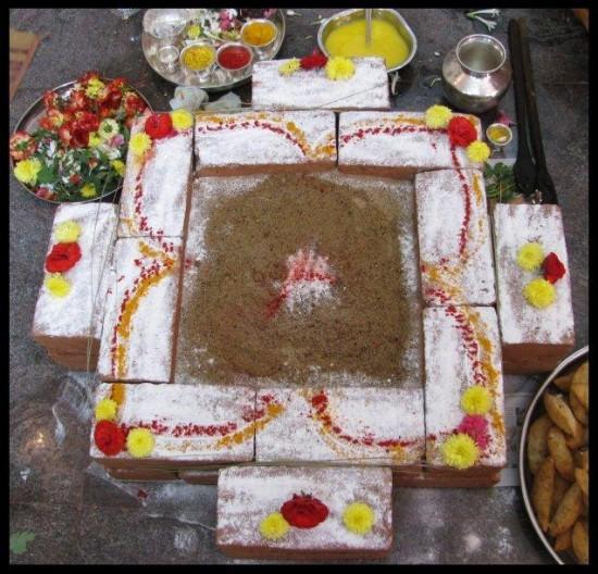 Homakunda Hinduism Symbols