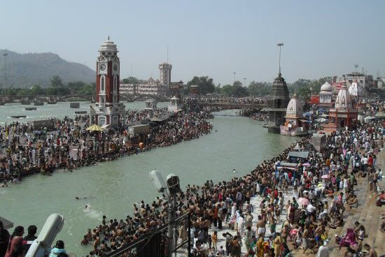 Makar Sankranti bath in holy river