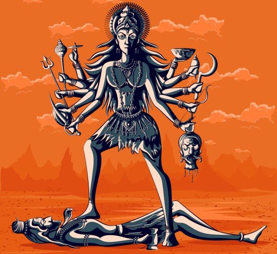 How Kali Came Into Existence