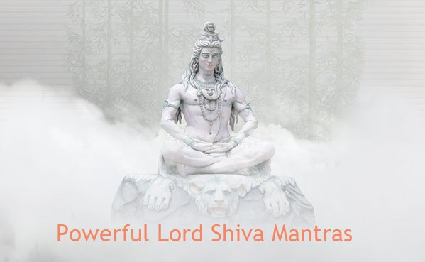 Powerful Lord Shiva Mantras