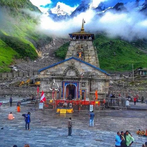Kedarnath Temple Photo